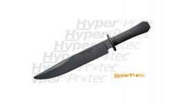 Grand poignard de formation au self-defense Cold steel Rubber santoprène