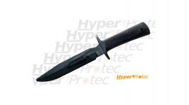 Couteau entrainement Rubber Military Classic R1