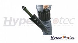 Set de 6 couteaux de lancer avec étui port cuisse