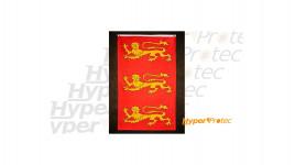 Drapeau Normand Richard Coeur de lion rouge et jaune léopards