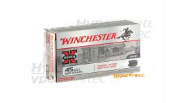 50 cartouches Winchester Colt 45 250 grains