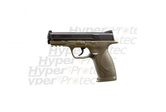 Smith&Wesson MP40 - Pistolet billes d'acier 4.5mm vert kaki