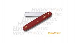 Couteau greffoir vigne Victorinox rouge - 10cm