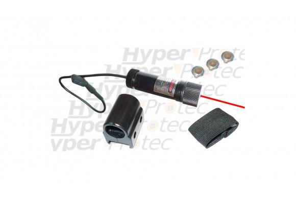 Laser avec switch pour arme de poing