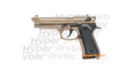 Pistolet alarme Kimar 92 calibre 9mm TAN desert