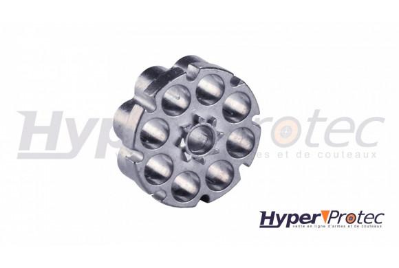 Chargeur barillet aluminium 8 coups en 4.5 mm