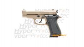 Pistolet alarme à blanc Kimar beretta 85 TAN - calibre 9mm P.A.