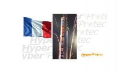 Chandelle Bazooka 7 comètes Allez la France - calibre 20mm