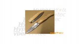 Couteau pliant Cimes manche manufacture - 8.5cm