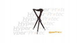 Chaise de chasse pliable outdoor noire - 70cm