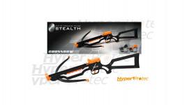 Arbalète à fléchettes ventouse Petron stealth noire et orange
