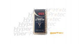 50 cartouches CCI 22WMR HP maxi-mag 1875fps