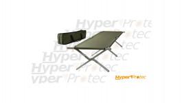 Lit de camp pliable lit picot type US aluminium avec sac de transport