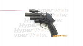 Pistolet de défense à balles caoutchouc double canon GC54 DA Calibre 12