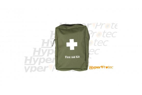 Kit de premier secours couleur olive