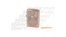 Briquet zippo motor eagle aspect cuivre