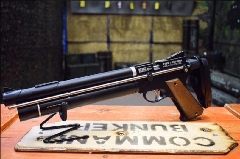 Pistolet à plomb Artemis PP750 15 joules