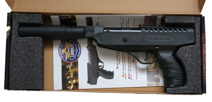 Pistolet à plomb Langley Silencer 10 joules